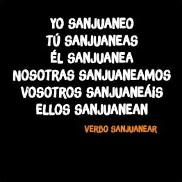 verbo sanjuanear ii