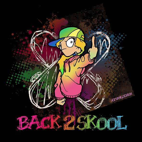 Back 2 Skool chica