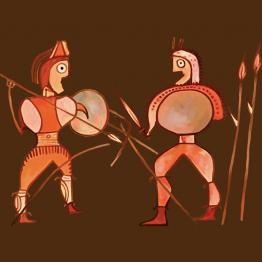 Guerreros ceramica
